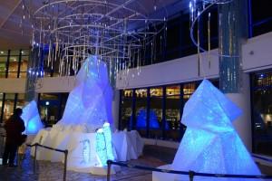 AQUA XMAS ILLUMINATION 2015「オーロラと流氷の恋の物語」11