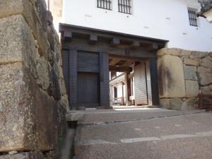 姫路城の門(10)