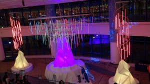 AQUA XMAS ILLUMINATION 2015「オーロラと流氷の恋の物語」17
