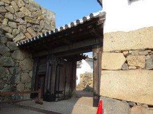 姫路城の門(11)