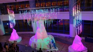 AQUA XMAS ILLUMINATION 2015「オーロラと流氷の恋の物語」16