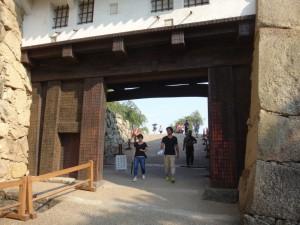 姫路城の門(12)