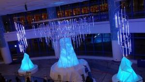 AQUA XMAS ILLUMINATION 2015「オーロラと流氷の恋の物語」13