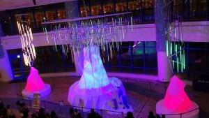 AQUA XMAS ILLUMINATION 2015「オーロラと流氷の恋の物語」15