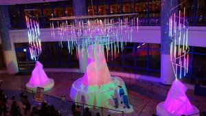 AQUA XMAS ILLUMINATION 2015「オーロラと流氷の恋の物語」12