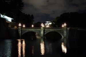 二重橋のライトアップ5