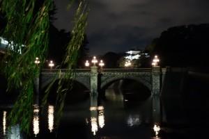 二重橋のライトアップ6