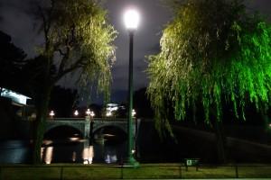 二重橋のライトアップ7