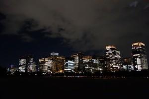 二重橋のライトアップ8