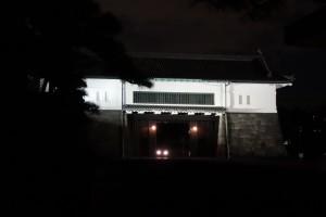 二重橋のライトアップ9