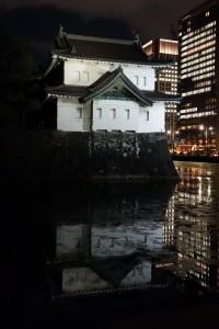二重橋のライトアップ10