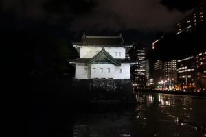 二重橋のライトアップ12