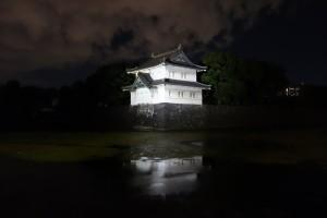 二重橋のライトアップ14