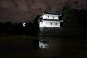 二重橋のライトアップ15