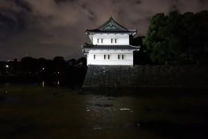 二重橋のライトアップ16