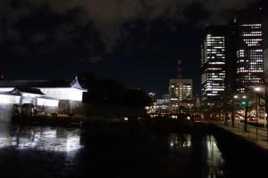 二重橋のライトアップ17
