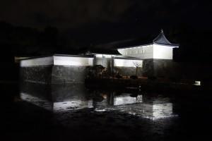 二重橋のライトアップ19