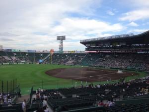 「第97回全国高校野球選手権大会」を見に行ってきました!(3)~第1日:開会式前~(2)