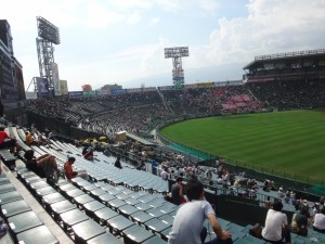 「第97回全国高校野球選手権大会」を見に行ってきました!(7)~第1日:第3試合「宮崎日大VS上田西」~(4)