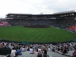 「第97回全国高校野球選手権大会」を見に行ってきました!(7)~第1日:第3試合「宮崎日大VS上田西」~(13)