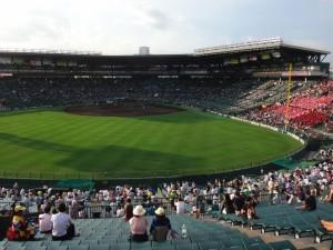 「第97回全国高校野球選手権大会」を見に行ってきました!(7)~第1日:第3試合「宮崎日大VS上田西」~(16)