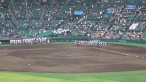 「第97回全国高校野球選手権大会」を見に行ってきました!(7)~第1日:第3試合「宮崎日大VS上田西」~(20)