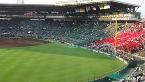 「第97回全国高校野球選手権大会」を見に行ってきました!(7)~第1日:第3試合「宮崎日大VS上田西」~(21)