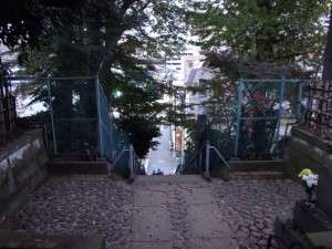 木造太田道灌坐像が安置されていた、稲付城(跡)5