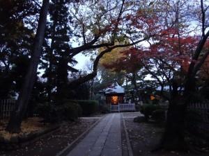 木造太田道灌坐像が安置されていた、稲付城(跡)7
