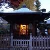 木造太田道灌坐像が安置されていた、稲付城(跡)