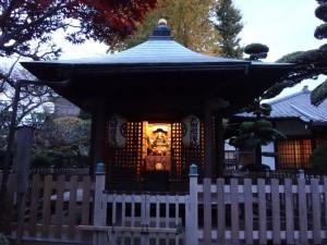 木造太田道灌坐像が安置されていた、稲付城(跡)8