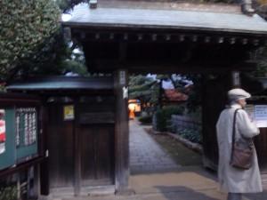 木造太田道灌坐像が安置されていた、稲付城(跡)1