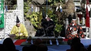 神田明神「だいこく祭~四條流包丁儀式~」1