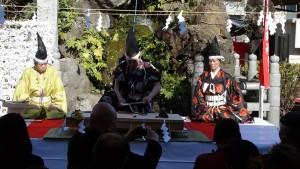 神田明神「だいこく祭~四條流包丁儀式~」2
