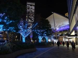 「東京駅グランルーフ Light on Train」3