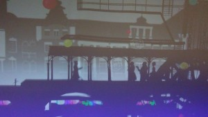 「東京駅グランルーフ Light on Train」7