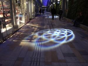 「東京駅グランルーフ Light on Train」20