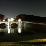 二重橋のライトアップ