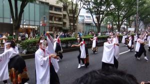 「明治神宮奉納 原宿表参道元氣祭スーパーよさこい2015」(上)(13)
