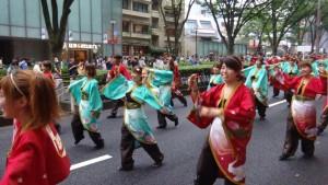 「明治神宮奉納 原宿表参道元氣祭スーパーよさこい2015」(上)(15)