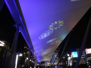 「東京駅グランルーフ Light on Train」15