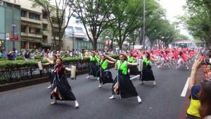 「明治神宮奉納 原宿表参道元氣祭スーパーよさこい2015」(上)(16)
