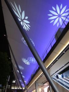 「東京駅グランルーフ Light on Train」8