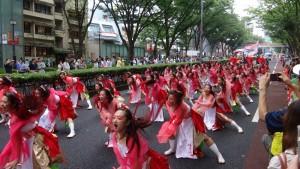 「明治神宮奉納 原宿表参道元氣祭スーパーよさこい2015」(上)(17)