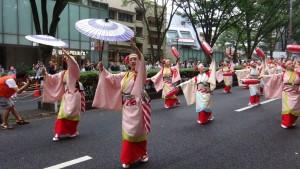 「明治神宮奉納 原宿表参道元氣祭スーパーよさこい2015」(上)(18)