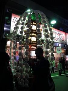 「関のボロ市」の万灯行列をちょこっと見てきました。4