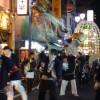 「関のボロ市」の万灯行列をちょこっと見てきました。