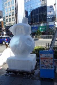 「第15回 神田小川町雪だるまフェア」7