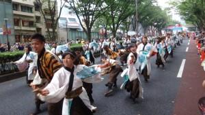 「明治神宮奉納 原宿表参道元氣祭スーパーよさこい2015」(上)(21)