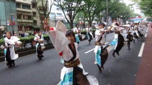 「明治神宮奉納 原宿表参道元氣祭スーパーよさこい2015」(上)(22)